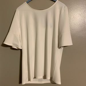 Anne Taylor Factory White Blouse